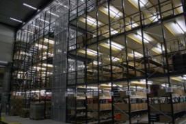 Docdata Fulfilment opent warehouse met hangende vloerconstructie