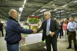 Logistiek middelencentrum FloraHolland geopend