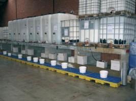 Opvangpallets voor vloeistoffen