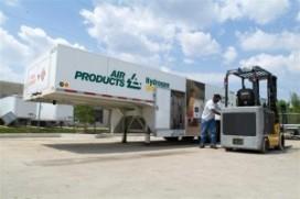 US Army en NestléWaters experimenteren met waterstofheftrucks