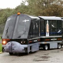 Exide levert 2 ton tractiebatterij aan Space Expo