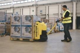 Hyster elektropallettruck biedt lage operationele kosten