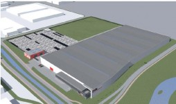 DylanGroup bouwt magazijn op Borchwerf