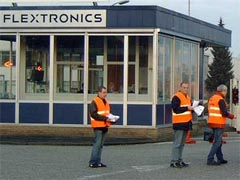 FNV wil strafrechtelijk onderzoek tegen Flextronics