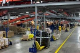 Egemin Automation levert drie projecten op