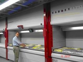 Kardex toont shuttlekasten op Logistica