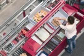 Knapp verzamelt orders ergonomisch op Logistica