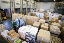 Kerstpakketten bezorgen Sligro-dc's topdrukte