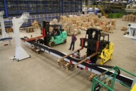 Nedac Sorbo ontvangt 12 ton gantry robot