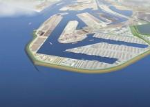 Minder containeroverslag op Tweede Maasvlakte