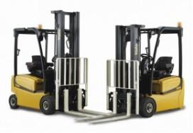 Yale presenteert trucks en zichzelf  op Logistica