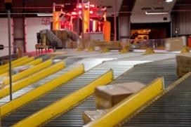 Snelle sorter voor DHL Express