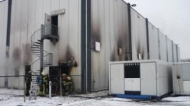 Grote brand treft dc Daily Fresh Food