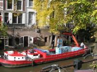 Utrecht heeft primeur met elektrische bierboot