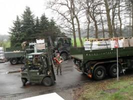 Lucht Mobiele Brigade verhuist dc Voedselbank