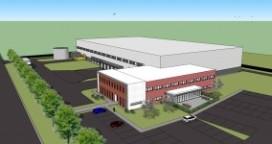 Goodman bouwt duurzaam dc voor medisch technologiebedrijf