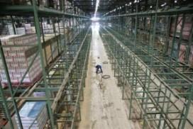 Super de Boer krijgt nieuwe magazijnvloer