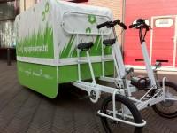 Delft start proef met vrachtfiets