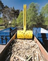 Palletcentrale versnippert pallets tot biomassa