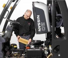 Nissan heftruck krijgt 'robuust pakket