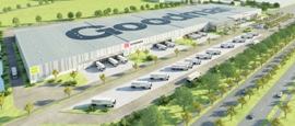 Goodman bouwt in Leipzig dc voor DB Schenker