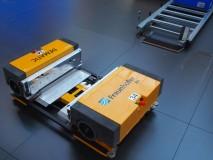 Dematic verstopt mulitshuttle prototype in black box
