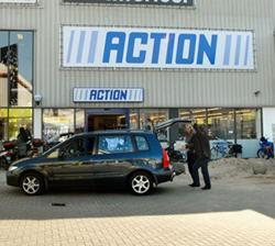 Nieuw kassasysteem Action realtime gekoppeld met SAP