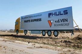 Nieuwbouw biedt Parts Express meer ruimte voor bandenopslag