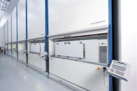 Plateaulift met ingebouwde koel/vriesbox
