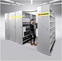 Stellingen elektrisch verrijden met RFID