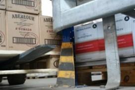Aanrijdbeveiligingen houden het magazijn veilig