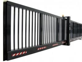 Aluminium schuifpoorten voor toegangsbeveiliging