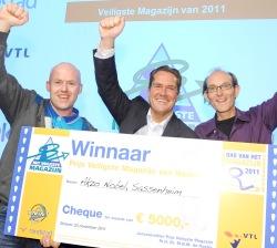 Akzo Nobel wint 'Het Veiligste Magazijn