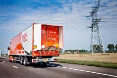 TNT test 'inklapbaar staartstuk' op truck