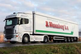 Groei in aantal vrachtauto's met schonere motoren