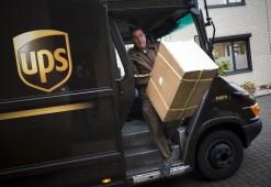 UPS verlaat ophaaltijden met een uur