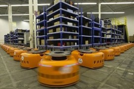 Amazon koopt producent magazijnrobots