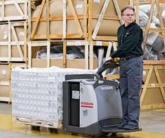 Nissan Forklift gaat niet naar Logistica