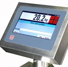 Handpallettruck met touchscreen weegt uiterst nauwkeurig
