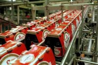 InBev optimaliseert de administratie door handterminals van Intermec