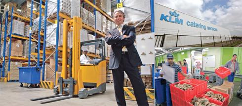 ERP en WMS maakt KLM-keten inzichtelijk
