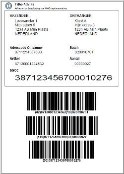Implementatie SSCC-label bij Broese & Peereboom