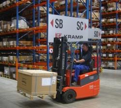 Intern transport uitgelicht bij Kramp Nederland