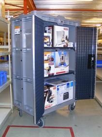 Transportkasten voor consumentenelektronica