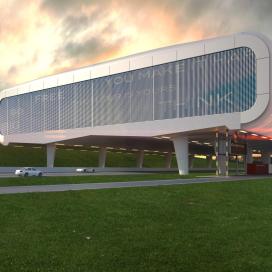 Futuristisch dc over snelweg wint design award