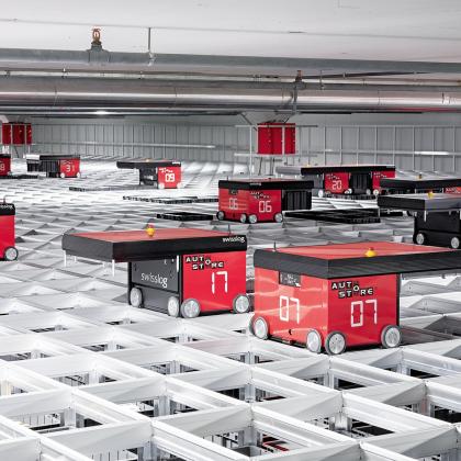 Swisslog levert duizendste Autostore-robot