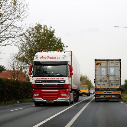 Zomerdip veroorzaakt weer daling transportprijzen