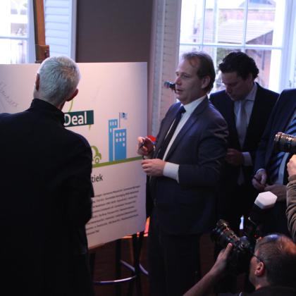 Green Deal geeft stadsdistributie nieuwe impuls