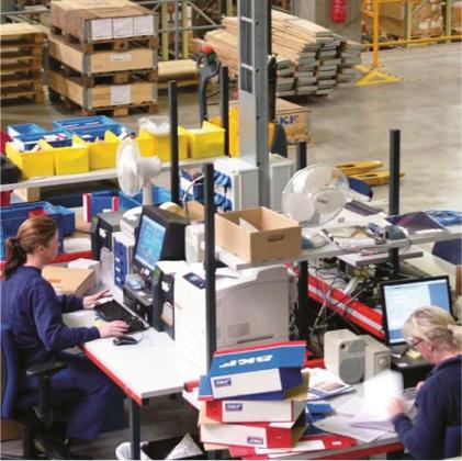 SKF breidt EDC in Tongeren uit met hoogbouwmagazijn