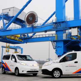 APM terminal start op met zero emissie